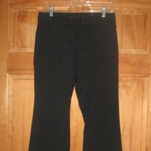 Starcity Scarlett Black w/White Stripes Pants